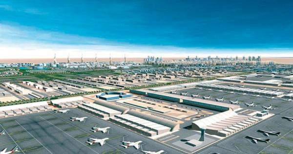"""""""دبي للطيران"""": إنجاز اول المرحلة من توسيع مطار آل مكتوم في كانون الاول"""