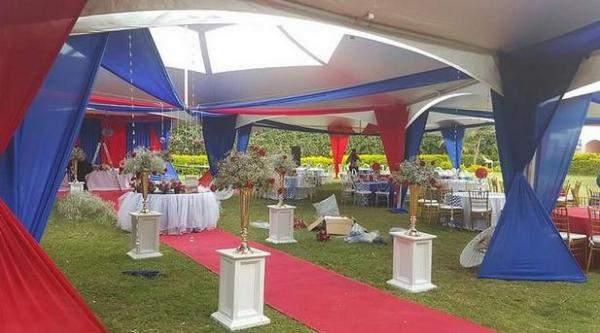 من حفل زفاف تكلفته دولار إلى حفل ملوكي في كينيا