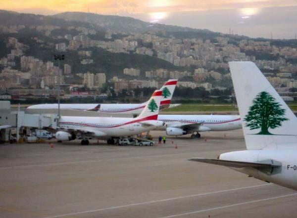 إنخفاض عدد المسافرين عبر مطار بيروت بنسبة 0.23% سنوياً خلال الفصل الأول من 2017