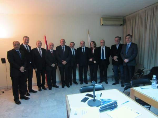 إنتخاب فؤاد رحمه رئيسا لتجمع رجال الأعمال اللبنانيين