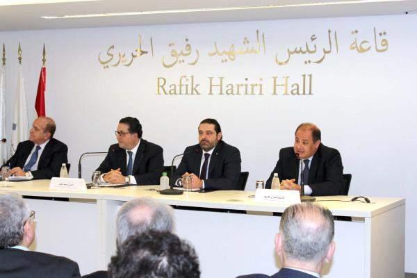 الحريري خلال لقاء حواري في غرفة بيروت: ذاهبون إلى مؤتمر باريس ببرنامج واضح بقيمة16 مليار دولار