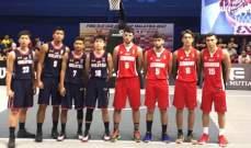 بطولة آسيا في 3x3:ذكور لبنان في المركز الرابع والاناث في المركز الثامن