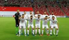 مباراة لبنان وهونغ كونغ منقولة تلفزيونيا