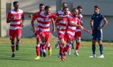 الإخاء يفوز على طرابلس بهدفين مقابل هدف