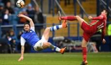 كأس الاتحاد الانكليزي: سوانسي يحتاج الى مباراة اعادة بعد تعادله امام شيفيلد
