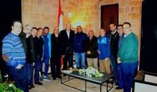 ميقاتي يستقبل مجلس إدارة نادي طرابلس
