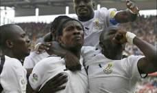 تأهل منتخب غانا لبطولة الامم الافريقية