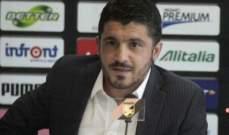 رسمياً: غاتوزو مدرباً لفريق شباب ميلان