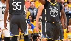 NBA PLYOFFS: غولدن ستايت واريرز يتقدم 2-0 على سان انطونيو بغياب كوري