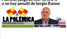 الماركا : هاتريك رونالدو اتت بقرارات خاطئة من الحكم