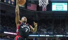 NBA: رابتورز يتعادل مع باكس في سلسلة الأدوار الإقصائية
