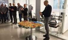 فريق تورو روسو يحتفل بنجاحه بإختبار الصدمات