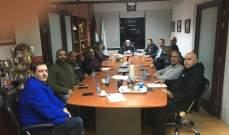 اجتماع ايجابي بين كاخيا ورزق والحلبي مع الحكام الدوليين في كرة السلة