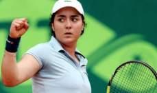 التونسية أنس جابر تشارك في بطولة قطر للتنس