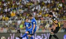 قمة السعودية تنتهي بالتعادل بين الاتحاد والهلال