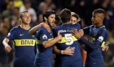 الدوري الأرجنتيني: فوز بوكا جونيورز