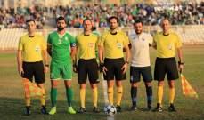 طرابلس يهزم الأنصار بهدف دون مقابل