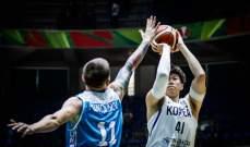 تصفيات مونديال السلة : كوريا تسقط نيوزيلندا و انتصاران للصين و الاردن