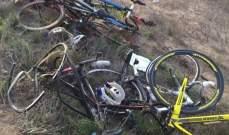 حادث دهس يودي بـ 4 دراجين من نادي اليرموك في السعودية