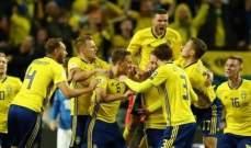 لا حالات خطيرة تذكر في مباراة ايطاليا والسويد