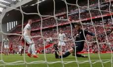 ليفربول صال وجال دون اهداف امام مانشستر يونايتد الصامت