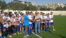 سيدات زوق مصبح بطلات كأس لبنان