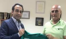 خاص: اول حديث لاميل رستم بعد توقيعه مع الانصار