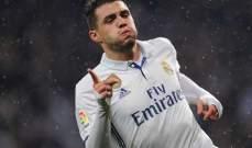 ريال مدريد يستعد لانطلاقة الليغا بغياب كوفاسيتش