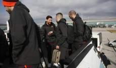 لاعبو برشلونة وصلوا الى لندن لمواجهة تشيلسي