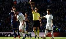 كيف كان الأداء التحكيمي في مبارتي مدريد وبرشلونة ويونايتد وليستر؟