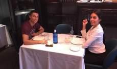 رونالدو وجورجينا يجتمعان على مأدبة الغداء