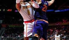 NBA: اتلانتا وميلووكي ينتظران دورهما للتاهل الى النهائيات