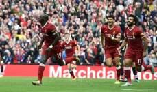 ليفربول يخطف الفوز امام كريستال بالاس وفوز ليستر سيتي