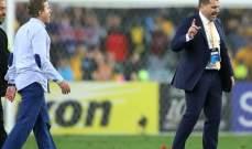ماذا حصل بين المدربين الاسترالي والسوري بعد المباراة؟