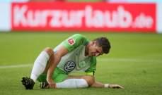 ماريو غوميز يعاني من اصابة في الكاحل