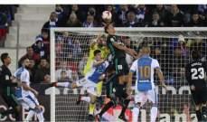 لورينتي:الفوز امام ليغانيس تحقق والان علينا التفكير بديبورتيفو لاكورونيا
