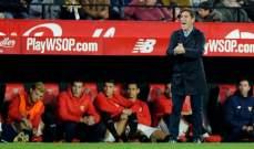 بيريزو يشعر بالاحباط بعد تعادل فريقه مع ليفانتي