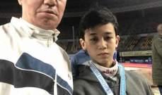 بطولة البحر الابيض المتوسط للمبارزة: ميدالية فضية للناشئ مصطفى الحاج