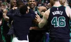 NBA: هورفورد ينقذ بوسطن والليكرز يتفوق على اوكلاهوما