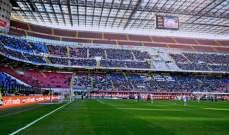 65 ألف تذكرة بيعت لمباراة إيطاليا والسويد