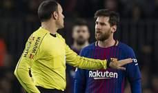 الموندو : برشلونة خسر 10 نقاط بسبب الاخطاء التحكيمية