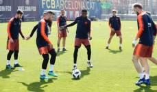 برشلونة يستعيد راكيتيتش قبل نهائي الكأس