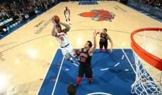 NBA: النيكس خارج حسابات النهائيات ودنفر يبتعد عن المنافسة