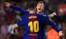 برشلونة يُمكّن صدارته بثنائية أمام ملقة في مباراة مثيرة للجدل