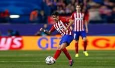 فرنانديز يعود الى تشكيلة اتلتيكو مدريد
