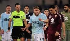 لاتسيو يفكّر بالإنسحاب من الدوري الإيطالي