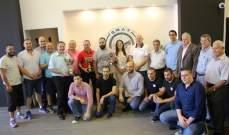 بطولة لبنان  في رماية المسدس : لقب المرحلة الثانية لجمعة