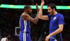 NBA: غولدن ستايت يحافظ على الفارق مع هيوستن في صدارة المجموعة الغربية