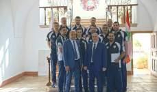 طائرة: فريق سيدني الأرز غادر لبنان بخمسة إنتصارات نظيفة