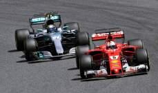 مرسيدس : المنافسة بيننا وبين فيراري هو أمر جيد للفورمولا 1